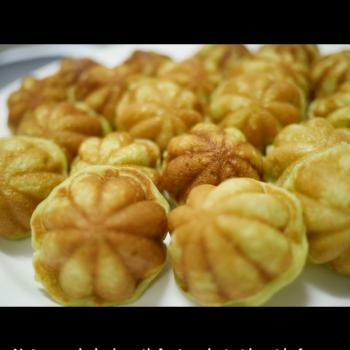 CHALLENGE  English muffin first slice