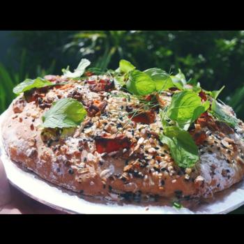 CHALLENGE  English muffin second slice