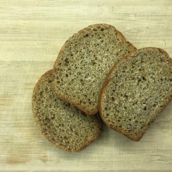 Kvas einkorn bread first overview