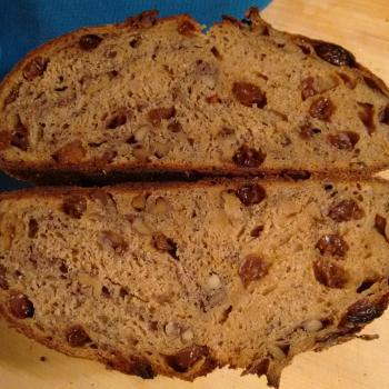 Tony Whole wheat raisin walnut second overview